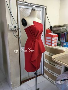 Prom Dresses Blue, Evening Dresses, Short Dresses, Couture Mode, Couture Fashion, Simple Dresses, Pretty Dresses, Moda Peru, Office Outfits Women