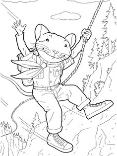 coloring page stuart little coloring pages 21 - Language Arts Coloring Pages