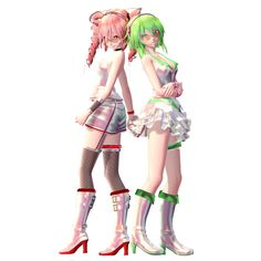 TDA HS Ver2.4 DL Models Pack 3 by HestiaSama.deviantart.com on @DeviantArt