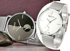 Zegarek Srebrny Męski Bloger Womage