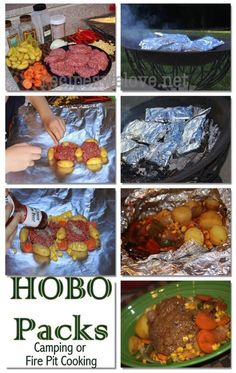 Hobo Packs (cooking in the fire)-1