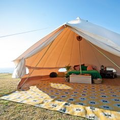 5m Ultimate Sibley Bell Tent - Breathe Bell Tents Australia : tent and canvas - memphite.com