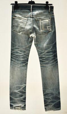 tenuedenimes:  Vintage worn in Dior jeans