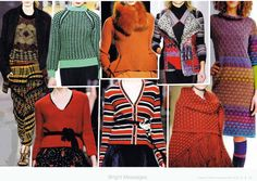 SIPPO fashion trend forecast A/W 2012-2013 - KNITWEAR                                    Highlights & Trends