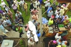 The veteran high life musician, who died on Wednesday June 12th, was buried yesterday June 13th at his building site at Ikorodu, Lagos. May his soul rest in peace..Amen.