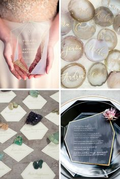 Different Ways to Have a Remarkable Geode Inspired Wedding - City of Creative Dreams