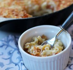This macaroni and cheese is the ultimate comfort food. Easy to prepare and tasty for a side or a light meal with a salad - a true classic.