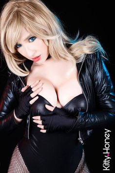 Black Canary! by Kitty-Honey.deviantart.com on @DeviantArt - More at https://pinterest.com/supergirlsart #hot #sexy #cosplay #girl #cosplaygirl #blackcanary
