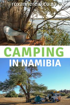 Love camping? Love Namibia? Combine the two and discover some great Namibia campsites across the country from the southeast to the far north, including their facilities and things to do in the area. Camping in Namibia / Campsites Namibia / Camping Namibia / Namibis camping / Campsites in Namibia #camping #Namibia #Namibiacampsites #campsites #africantravel