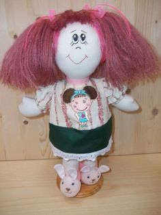 Cloth Doll Pattern PDF Rag Doll Sewing Pattern Instant Download. This is a PDF pattern to create a beautiful rag doll, 33 pages. Rossella Usai