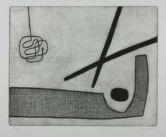 Oliver Gaiger - etching
