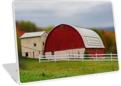 Der Dutchman Restaurant is across the road from this grand red barn. Serves fine food family style deep in the heart of Amish country of Ohio. • Also buy this artwork on laptop covers, apparel, phone cases, and more.