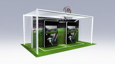 Electronic Arts Game Stations by Telmo Oliveira, via Behance