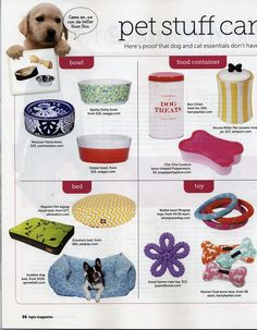 """@petplaysf's Greenery Pet Bed was featured as a """"must have"""" for pets in the March issue of @HGTVMagPromo."""