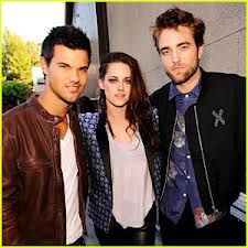 Team Twilight: Kristen, Robb Pattinson, Taylor Lauthner