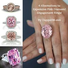 """""""How You Can Own an #EngagementRing Just as Beautiful as This $60 Million Dollar Rare #Pink #Diamond!""""   #diamonds #beautiful #jewelry #jewellery #sapphire #gemstones"""