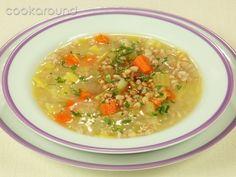 Zuppa di farro: Ricette Cucina Vegetariana | Cookaround