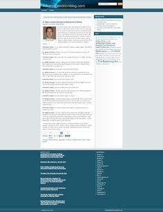 Dr. William Knudson Informationation Blog