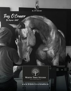 Tony O Connor 2020 Equine Art Calendar Limited Edition Art Calendar, Equine Art, Life Is Good, Horses, Artist, Image, Paint Horses, Artists, Horse Art