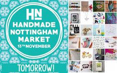 It's Tomorrow! We have the very best of UK designer makers selling their wares Live @sunshine_jo Portraits and tasty food and drink from @maltcross! Christmas starts here! :D View our exhibitor line up following our profile link #hnmarkets #wintermarket #christmasmarket #nottinghamevent #shoplocal #buyhandmade #shoplocal #supportinependent