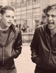 Kristen Stewart and Robert Pattinson.......