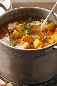 Vegetarisches Kartoffelgulasch mit Paprika
