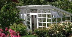 Växthus, Växthusbygge, Pulpettak, Egenbyggt växthus,