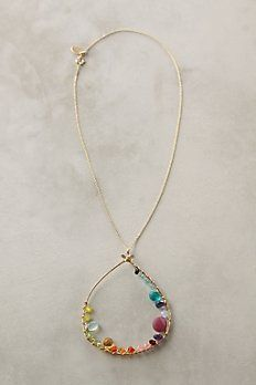 Love the colors of this necklace!  So sweet.