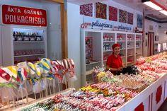 Gränna Polkagrisar (Swedish hand-made candy)