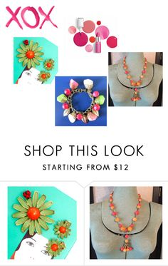 """XOX"" by underlyingsimplicity ❤ liked on Polyvore featuring GALA, Clinique, vintage, vintagejewelry, vogueteam and voguet"
