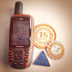 Danke für 15 Jahre Geocaching!   #Garmin #Geocaching #Groundspeak