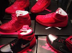 """Marcus Jordan Shows Off Air Jordan Red """"Legends of the Summer"""" Sneaker Collection"""