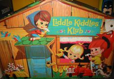 Liddle Kiddles  I want to pin this for my sister, but she is not on Pinterest.   She loved these when she was little.
