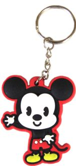 """MICKEY MOUSE & FRIENDS  (Disney) Mickey Mouse Keychain. Back says, """"Cutie!"""" Key Ring (Keychain, Keyring) (1.63"""" x 2"""") - $4.98 - 1-KCR-46056  #disney  #discontinued #rare #collectable"""