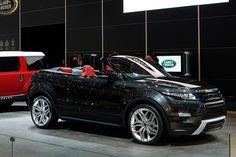 Range Rover Evoque Cabrio in Genf: Offroader der offenen Klasse - AUTO MOTOR UND SPORT
