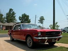 1965 Ford Mustang Convertible with Bench Seats