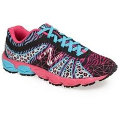 New Balance '890 - Animal Print' Sneaker (Toddler, Little Kid & Big Kid) Black/ Pink 2.5 M - product - Product Review