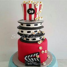 S Hollywood Cake, Birthday Cake, Desserts, Food, Pastries, Tailgate Desserts, Deserts, Birthday Cakes, Essen