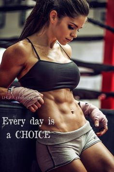 MOTIVATIONAL POSTER of exotic Latina #Fitness model Michelle Lewin : if you LOVE Health, Workouts & Realistic Body Goals - you'll LOVE the #Inspirational designs at CageCult Fashion: http://cagecult.com/mma