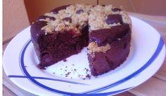 BIZCOCHO DE CHOCOLATE CON CEREZAS Cake, Desserts, Albums, Food, Chocolate Sponge Cake, Sweets, Deserts, Cherries, Kuchen