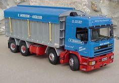 R Morrison - Tipper Transportation, Trucks, Models, Vehicles, Dioramas, Model Building, Templates, Truck, Car