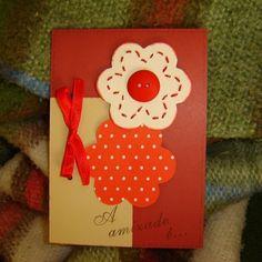 Cartões Artesanais passo a passo