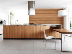 lucrezia fitted designer kitchen dining table by cesar
