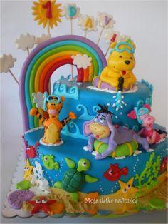 Winnie the Pooh Kids Cake