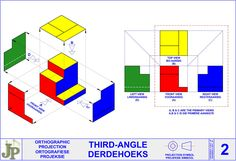 Orthographic Projection, Orthographic Drawing, Mechanical Symbols, Civil Drawing, Solid Geometry, One Point Perspective, Bar Chart, Posters, Drawings