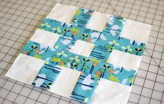 This may not be a traditional quilt block, but I think it's a new classic! Have you sewn a hashtag quilt block yet? It's so easy, you have to add this to your sampler quilt.  And... did you see the Jumbo Hashtag Quilt Pattern that I made with a bigger version of this blog? Don't miss it!