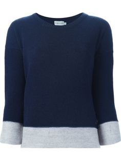 Moncler contrast edge sweater