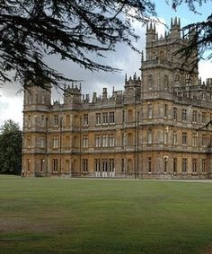 Highclere Castle, England, where Downton Abbey is filmed.