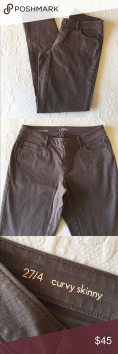 Ann Taylor LOFT - Curvy Skinny Pants Ann Taylor LOFT - Curvy Skinny Pants LOFT Pants Skinny