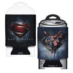 Superman Man of Steel Movie Logo Can Hugger @ niftywarehouse.com #NiftyWarehouse #Superman #DC #Comics #ComicBooks